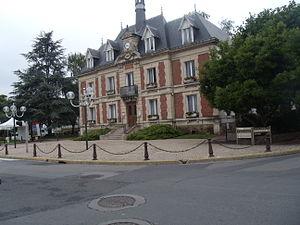 Pierrelaye - The town hall of Pierrelaye
