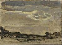 Piet Mondriaan - Evening sky with luminous cloud - 0334228 - Kunstmuseum Den Haag.jpg