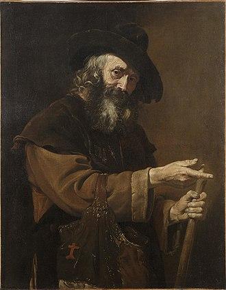 Pietro Bellotti - Old Pilgrim, 1660's, Dallas Museum of Art