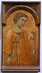 Saint Margaret or Agatha