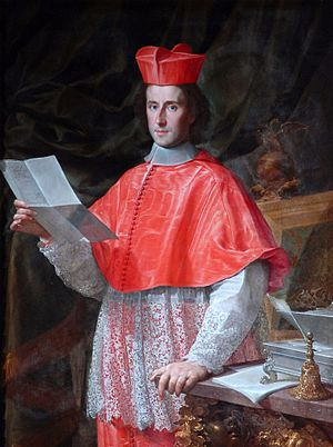 Cardinal-nephew - Pietro Ottoboni, the last holder of the post of Cardinal Nephew, painted by Francesco Trevisani