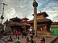 Pigeons around Kathmandu Durbar Square.jpg
