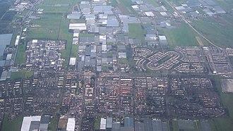 Pijnacker-Nootdorp - Aerial view of Pijnacker