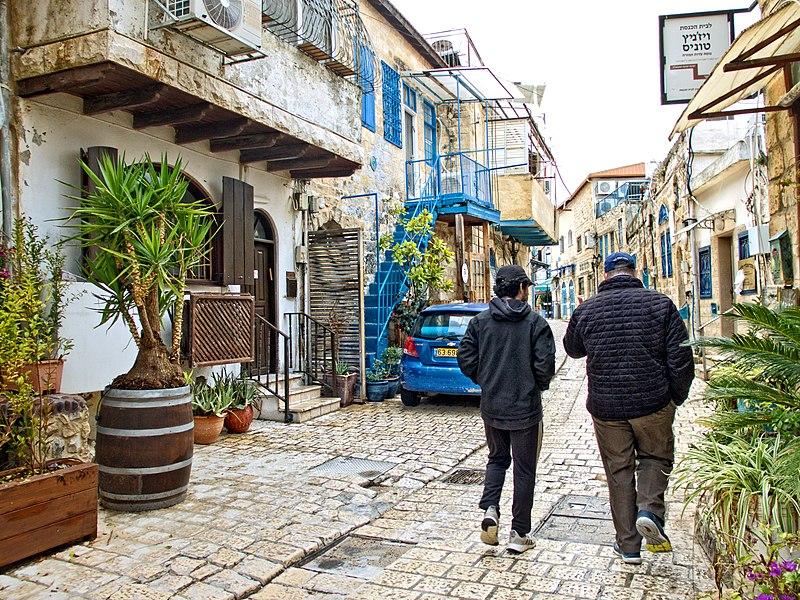 רחוב בר יוחאי בצפת