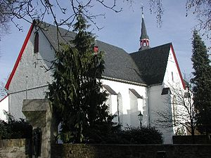 Marienheide - Pilgrimage church Saint Mariä Annunciation
