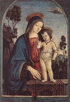 Madonna col Bambino benedicente