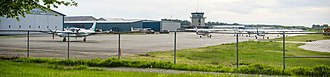 Pitt Meadows Airport - Image: Pitt Meadows Airport (2017)