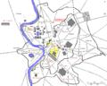 Plan Rome- Tempel van de gens Flavia.png