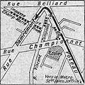 Plan de l'attentat de la rue Damrémont (Excelsior 1914-04-25).jpg