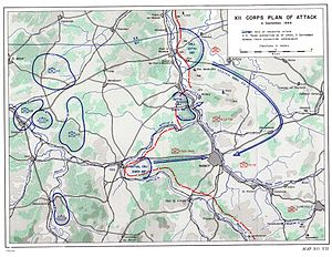 Battle of Nancy (1944) - Initial plans for assault on Nancy.