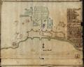 Planta de Setúbal, com a Praça, o Castelo de S. Filipe, a Torre os Baluartes e o Forte de Albarquel.png