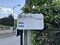Plaque Allée Coste - Villiers-sur-Marne (FR94) - 2021-05-07 - 2.jpg