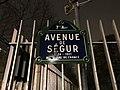 Plaque avenue Ségur Paris 2.jpg