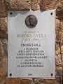Plaque to Gyula Bozóky (2003), 2020 Göd.jpg