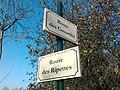 Plaques Route Couardes Route Ripettes St Cyr Menthon 2011-11-23.jpg
