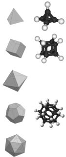 Platonic hydrocarbon