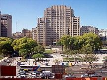 Argentina-Health care-Plaza Houssay Av Córdoba Facultad Medicina