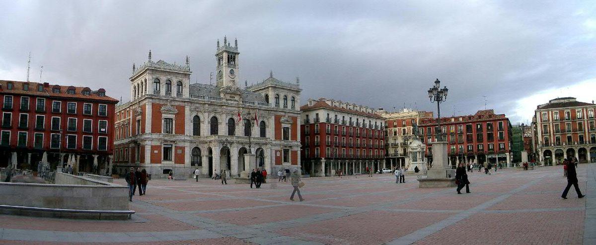 Plaza mayor de valladolid wikipedia la enciclopedia libre - Madrid olmedo ...