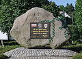 Ploty Polish patriots memorial stone 2010-07.jpg