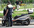 Police motorcycle in Albania 01.jpg