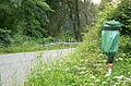 Polizistenmord von Holzminden Waldparkplatz Rottmündetal Notrufsäule.jpg