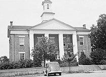 Polk County Courthouse, Courthouse Street, Columbus (Polk County, North Carolina).jpg