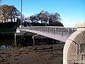 Pont 'Rabar at low tide - geograph.org.uk - 1583107.jpg