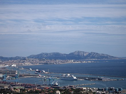 The Port of Marseille seen from L'Estaque Port Autonome de Marseille.JPG