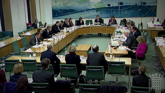 Select committee (United Kingdom) - A select committee in Portcullis House