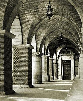 Groin vault - Santa Maria Maggiore at Guardiagrele in Abruzzo