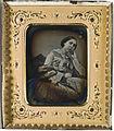 Porträtt, knäbild av prinsessan Eugénie, sittande - Nordiska Museet - NMA.0054052 1.jpg