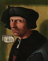 Portrait of Jacob Cornelisz van Oostsanen