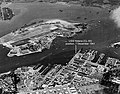 Position of USS Helena (CL-50) at the beginning of the Japanese attack on Pearl Harbor, 7 December 1941 (80-G-451185).jpg