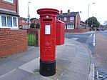 Post box on Kingsley Road, Liverpool.jpg