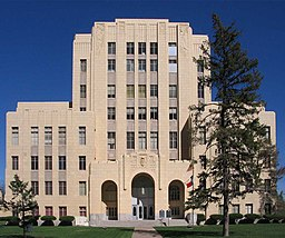 Potter County Courthouse building - Amarillo Texas USA.jpg
