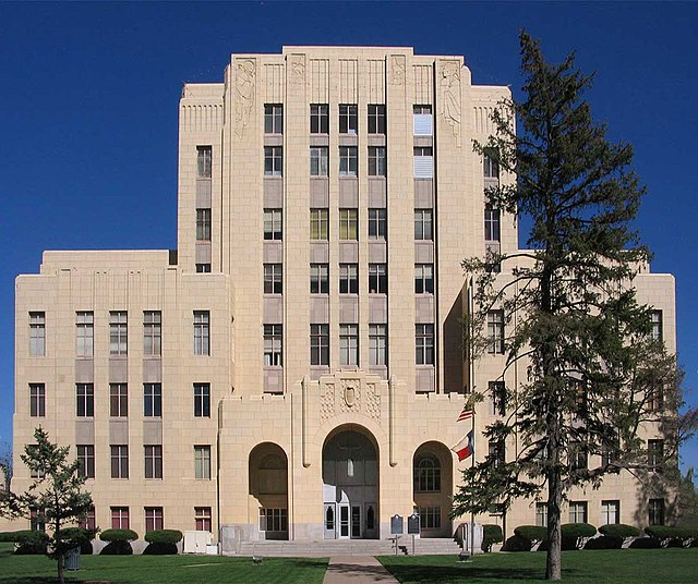 File Potter County Courthouse Building Amarillo Texas