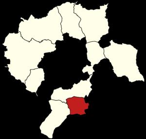 Gmina Buczkowice - Image: Powiat bielski (śląski) Buczkowice