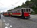 Průvod tramvají 2015, 07a - tramvaj 275 a 624.jpg