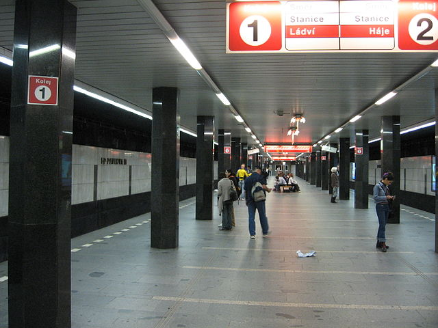 File:Prague metro station I P