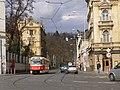 Praha, Malá Strana, Nábřeží E. Beneše, tram 01.jpg