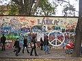 Praha, Malá Strana, Velkopřevorské náměstí, Lennonova stěna 01.jpg