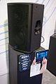 PreSonus StudioLive 328AI 15-inch 3-way CoActual, Fulcrum Temporal EQ DSP, 2000 W, SL Room Control for iPad - angled right with description - 2014 NAMM Show (by Matt Vanacoro).jpg