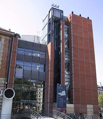 IRCAM - Western façade of the IRCAM building