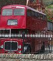 Preserved Rhondda Transport bus 457 (457 KTG) 1961 AEC Regent V Metro Cammell, Rhondda Heritage Park, 6 May 2011 (2).jpg