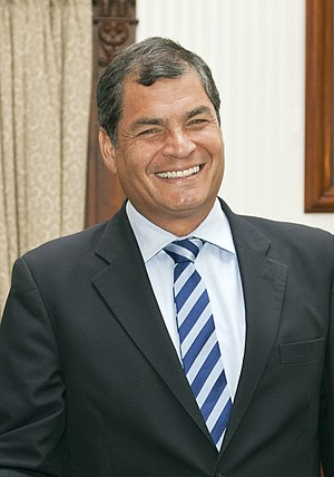 Rafael Correa - Image: President Correa 2012