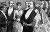 Grover Cleveland and Frances Folsom's wedding