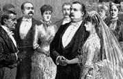 Grover Cleveland was the second President married in office, and the only President married in the White House itself
