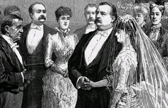Frances Folsom Cleveland Preston - Frances Folsom married Grover Cleveland on June 2, 1886, becoming the First Lady of the United States.