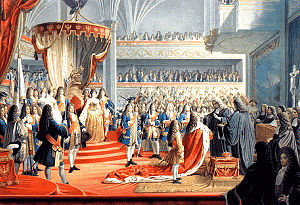 House of Hohenzollern - Coronation of Frederick I in Königsberg.