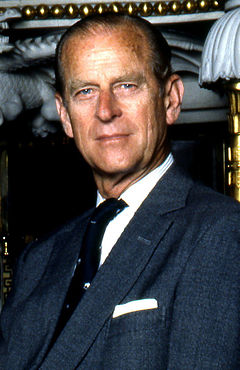 Prince Philip by Allan Warren cropped